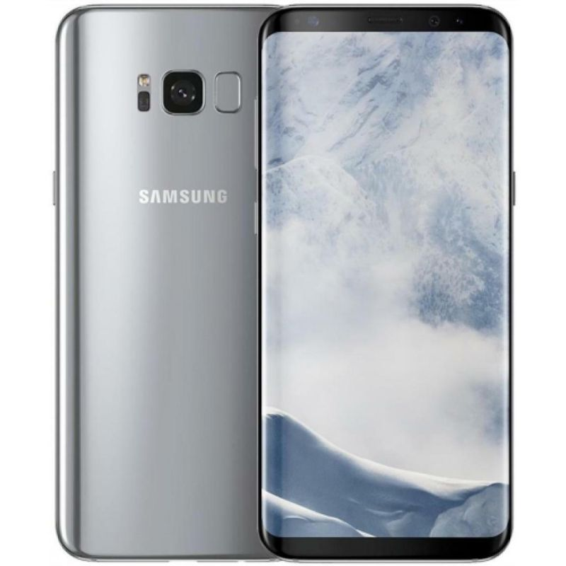 Samsung Galaxy S8 Plus 64GB Unlocked 4G LTE (Verizon, AT&T, T-Mobile)-Silver-Daily Steals