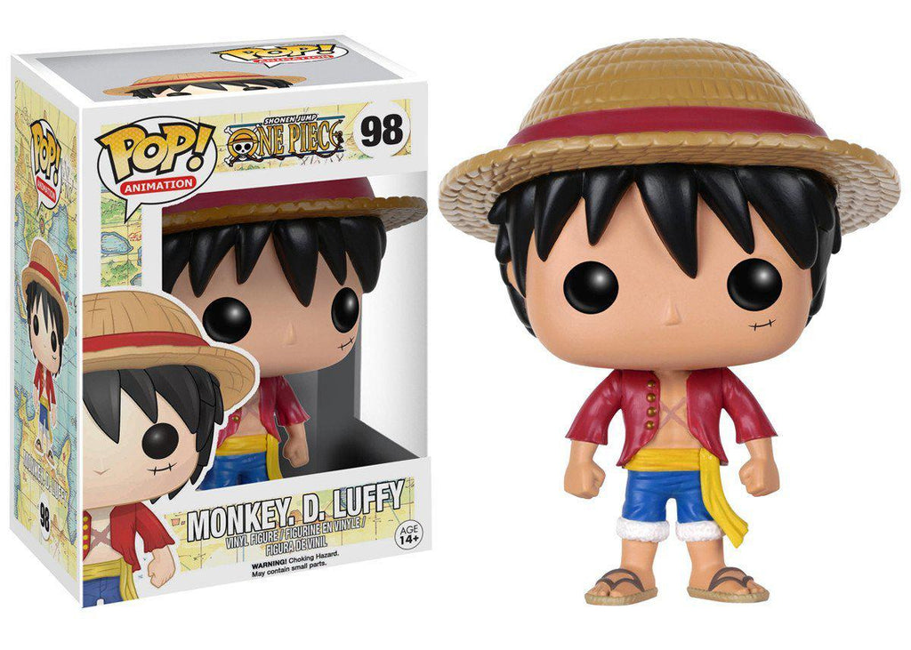 Funko POP Collectible Figures-Pop Anime: One Piece Monkey D.Luffy-Daily Steals