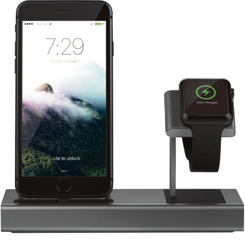 Nomad Base Station for Charging iPhone and Apple Watch-Daily Steals