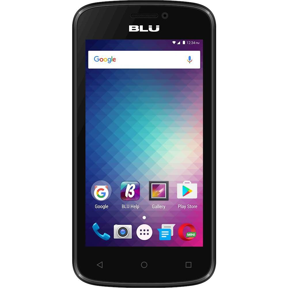 BLU Advance 4.0M with 4GB Memory Cell Phone (Unlocked) - Black-B Grade-Daily Steals