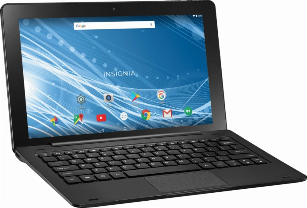 "Daily Steals-Insignia 11.6"" Tablet 32GB With Keyboard - Black-Tablets-"