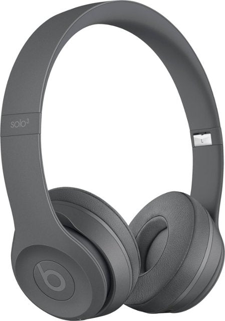 Beats by Dr. Dre Beats Solo3 Wireless On-Ear Headphones-Asphalt Gray-Daily Steals