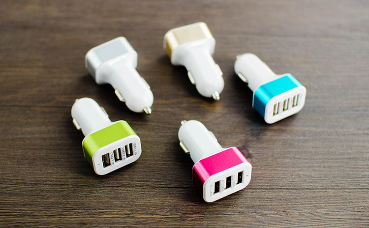 3 Port USB Charger - 2 Pack-Green-Daily Steals