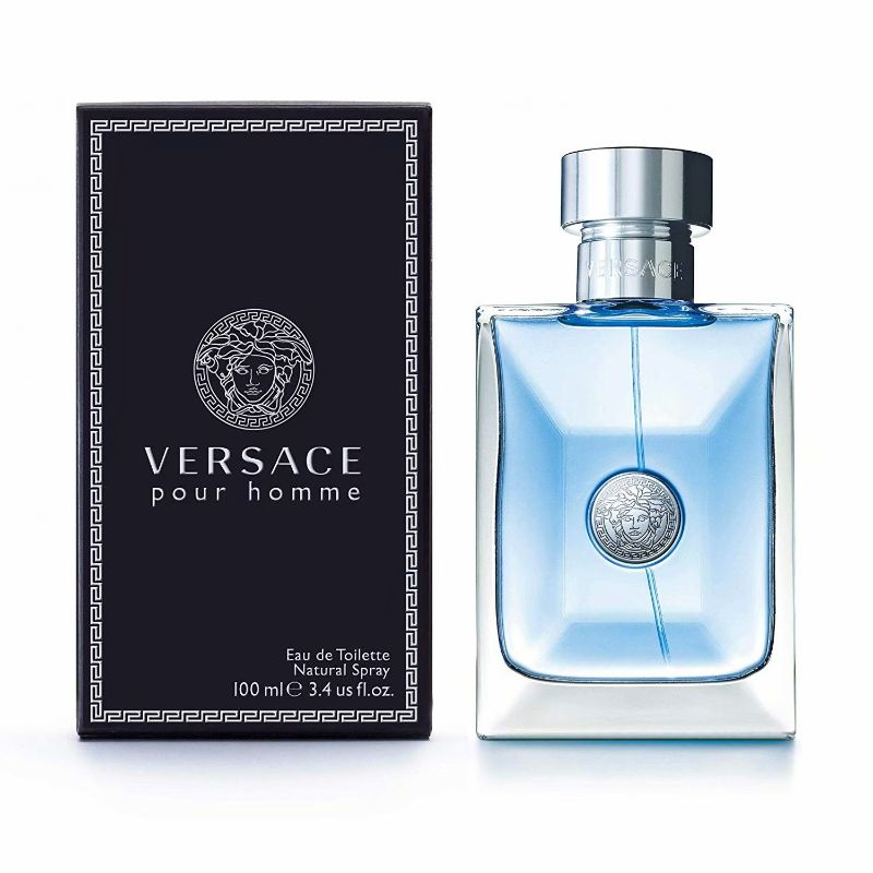 Versace Pour Homme Eau De Toilette Natural Spray, 3.4 Ounces-Daily Steals