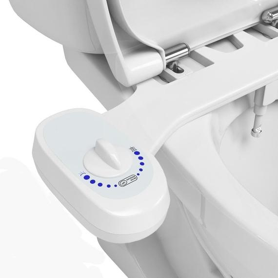 Fresh Water Bidet Attachment with Self-Cleaning Retractable Water Jet-Daily Steals