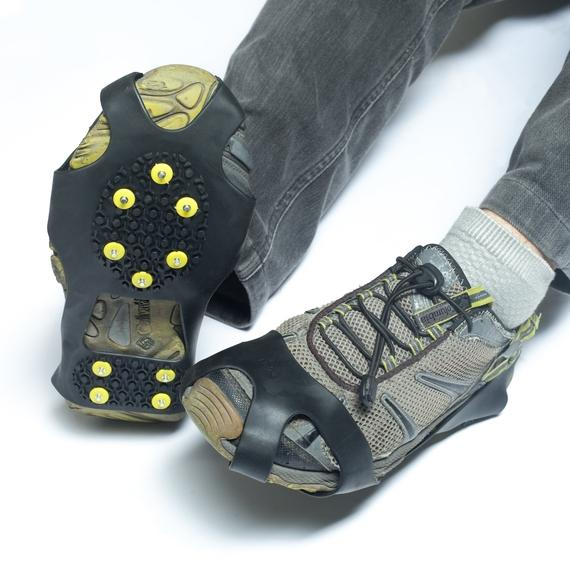 Outdoor Nation Ice and Snow Traction Cleats with Steel Studs-Daily Steals