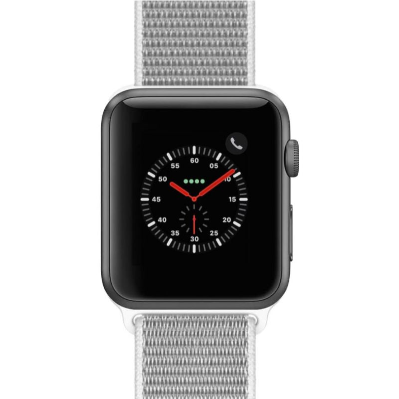 Apple Watch Series 2 38mm, WiFi-Space Gray with Seashell Sport Loop-Daily Steals