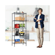 Commercial Metal Shelving Unit - 4-Tier or 5-Tier-Daily Steals