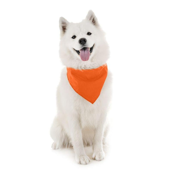 Dog Scarf Bandanas Triangle Bibs - 6 Pack-Orange-Daily Steals