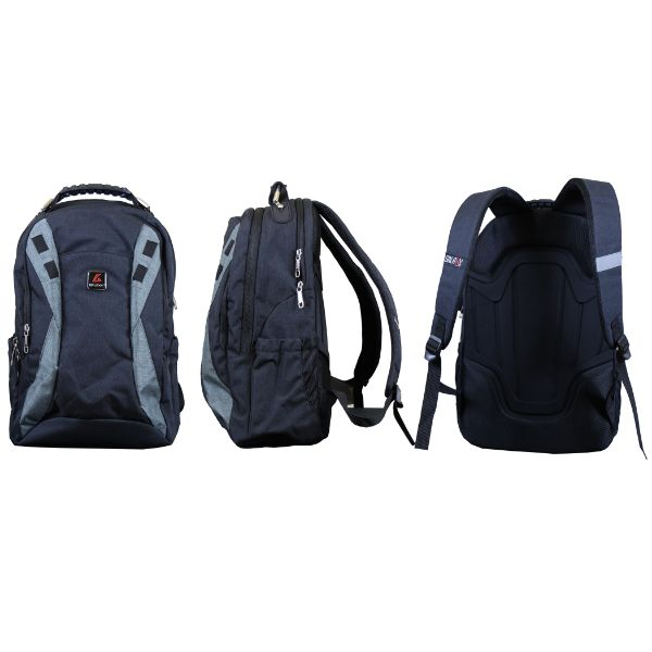 Pro Series Padded Laptop Backpacks-Black (Performance)-Daily Steals