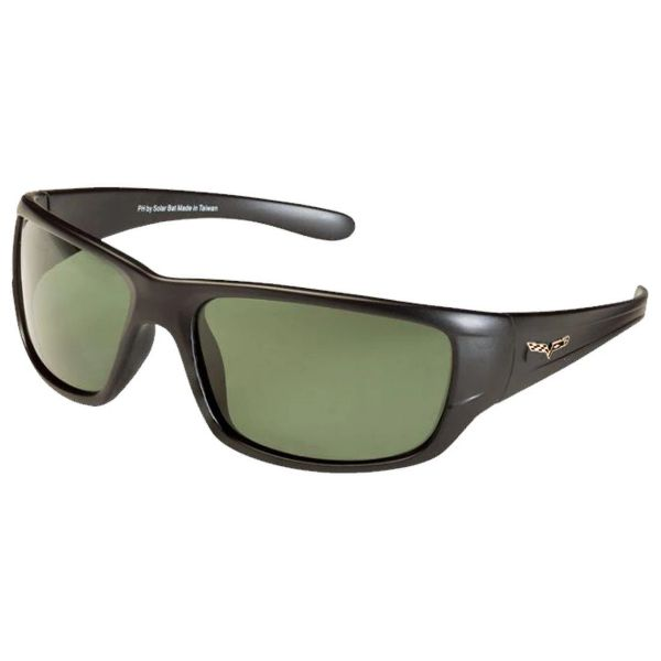 Corvette C6 Polarized Sunglasses El Series 5 Sports Styles by Solar Bat-CV-BD2 Gray Polarized-Daily Steals