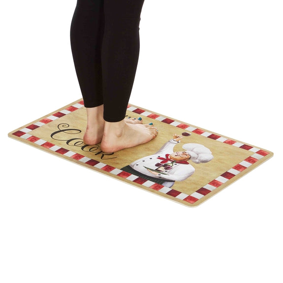 Anti-Fatigue Cushioned Kitchen Mats - 2 Pack-Kiss The Cook-Daily Steals