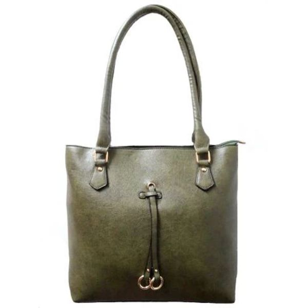 Patterson Leather Emily Tote-Green-Daily Steals
