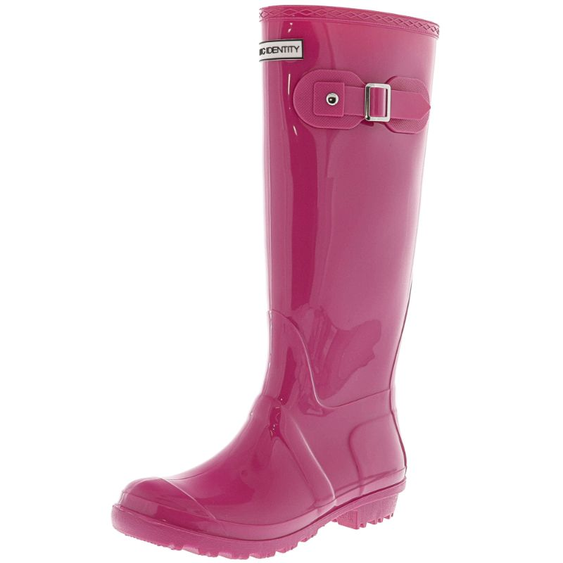 Exotic Identity Original Tall or Short Rain Boots-Pink - Tall-7M-Daily Steals