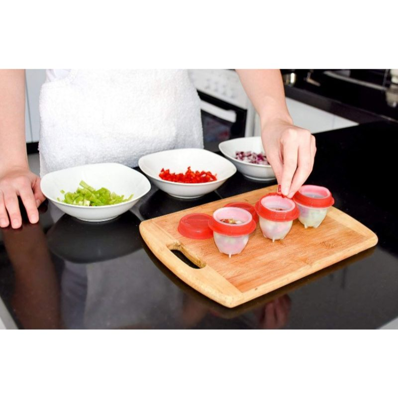 Egg Maker n' Poacher Molds - 6 Pieces-Daily Steals