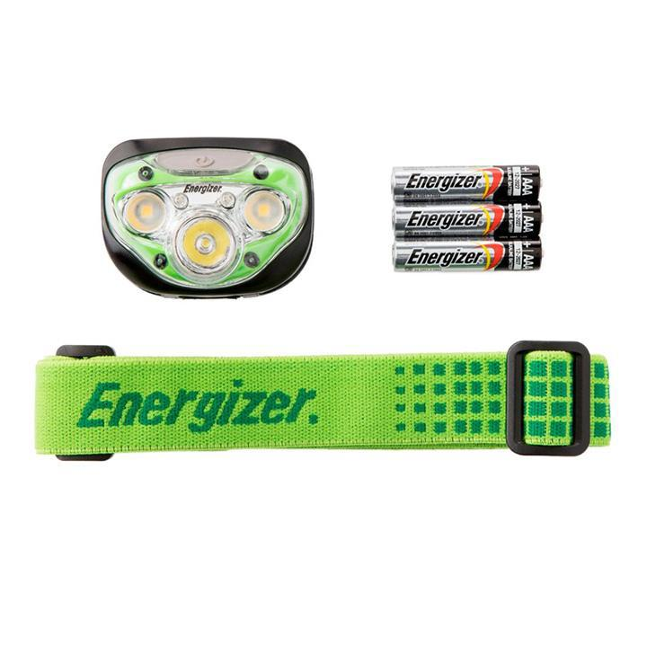 Energizer 250 Lumen Vision HD+ Headlight LED Head Flashlight - Green-Daily Steals