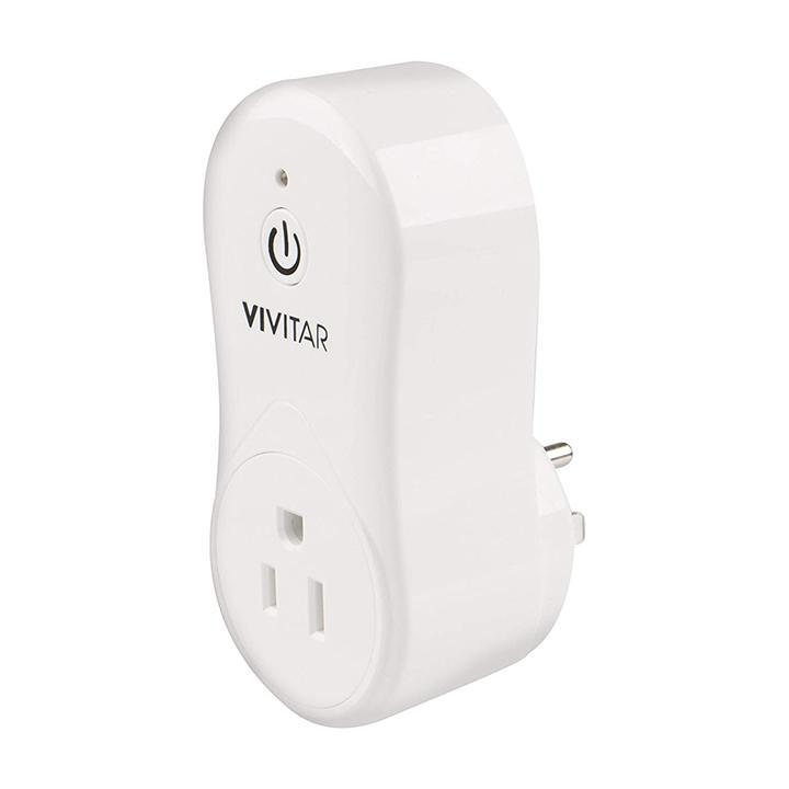 update alt-text with template Daily Steals-Vivitar Smart Home Wi-Fi Power Plug - 2 Pack-Home and Office Essentials-