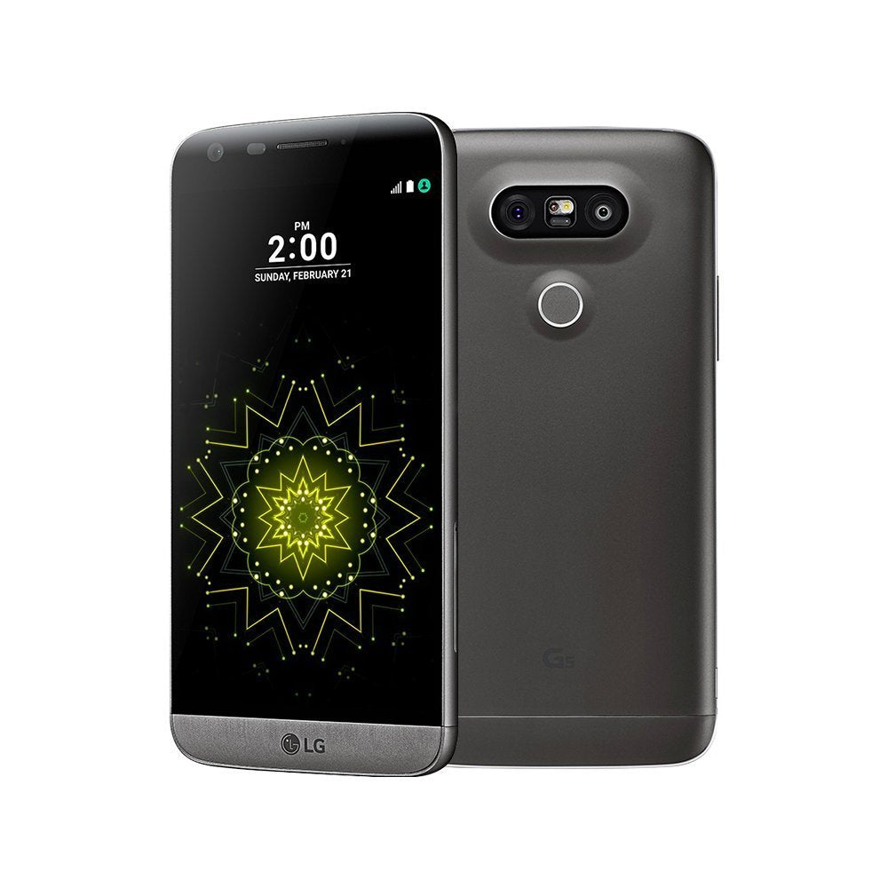 LG G5 Factory Unlocked 4G LTE GSM + Verizon Smartphone - 32GB-Gray Titanium-Daily Steals