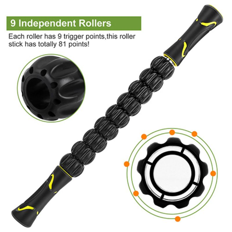 "18"" Muscle Roller Massage Stick"