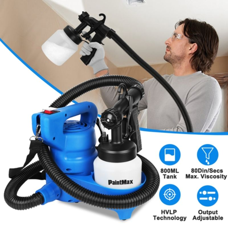 800ML Paint Spray Oil Primer Water 650W Machine