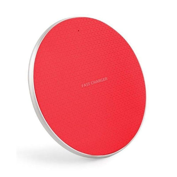 Fast Charge Wireless Charging Pads-Red-Daily Steals