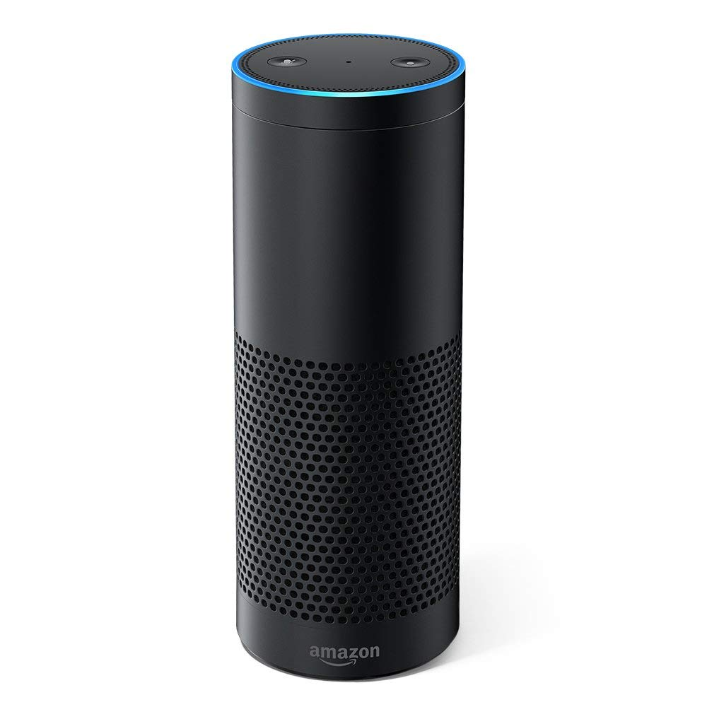 Daily Steals-Amazon Echo Smart Speaker with Alexa Voice Assistant - Black-Home and Office Essentials-