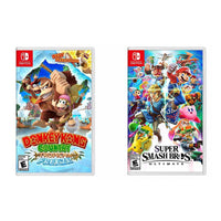 Super Smash Brothers Ultimate and Donkey Kong: Tropical Freeze Bundle - Nintendo Switch