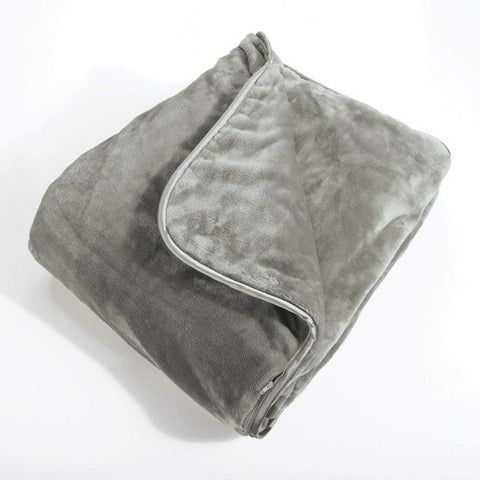 Daily Steals-Brookstone Nap Weighted Blanket, One Size-Other-Grey-