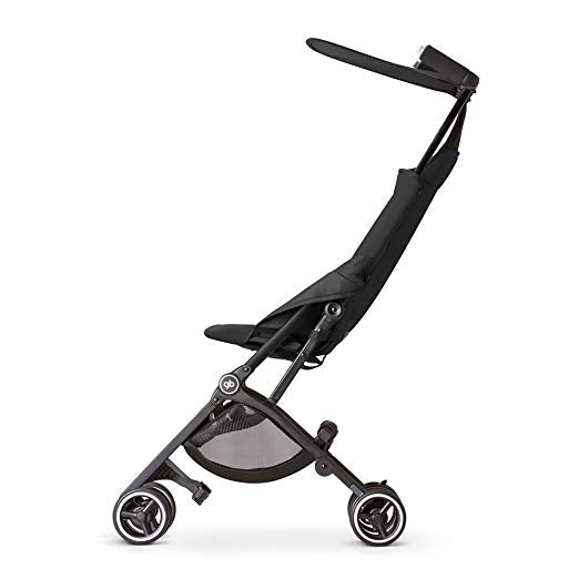 gb Pockit Lightweight Stroller - Monument Black-Daily Steals