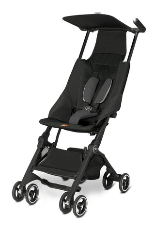 Daily Steals-gb Pockit Lightweight Stroller - Monument Black-Toddlers and Babies-