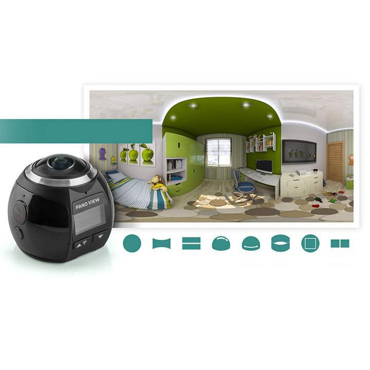 360 Degree Panoramic Camera with Accessories-Daily Steals