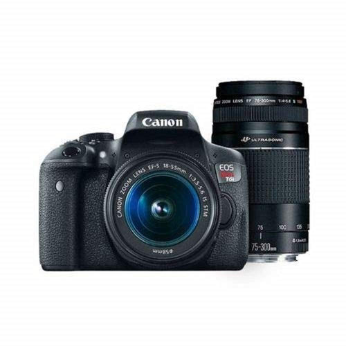 43fceca92e Daily Steals-Canon Digital SLR Camera Kit  EOS Rebel T6  with EF-