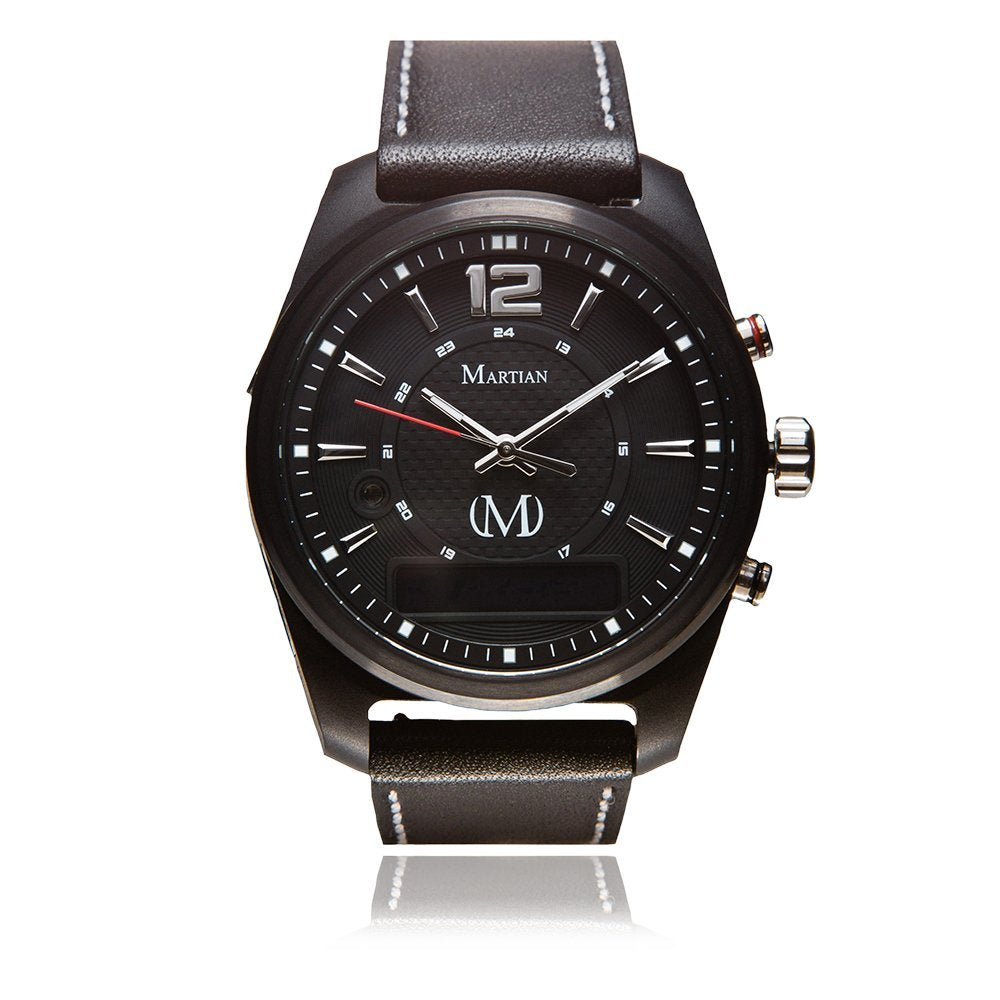 Martian mVoice Smartwatches with Amazon Alexa – Analog + Voice-Daily Steals