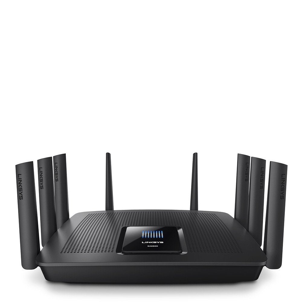 Linksys AC5400 Tri Band Wireless Router, Works with Amazon Alexa (Max Stream EA9500)-Daily Steals