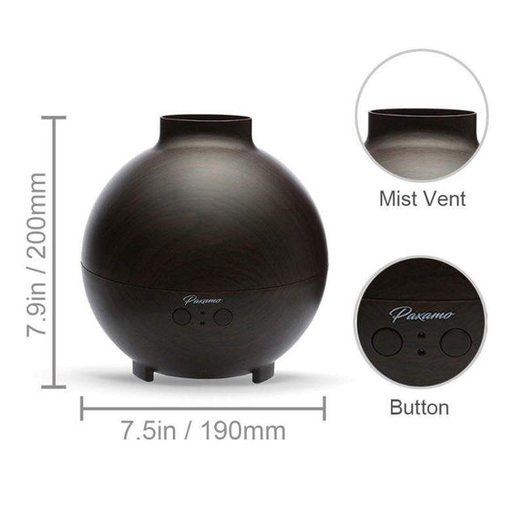 Paxamo 600ml Ultrasonic Oil Diffuser-Daily Steals
