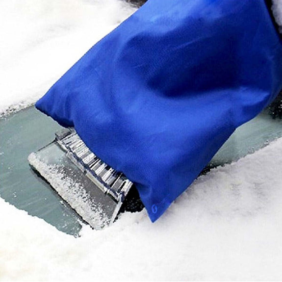 Zone Tech Snow Scraper Mitt for Windshields-Daily Steals