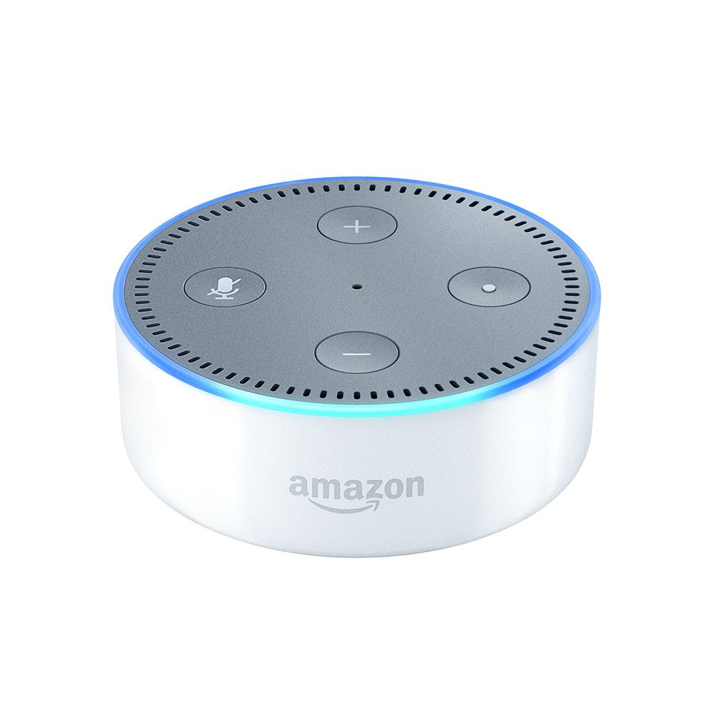 Daily Steals-Echo Dot (2nd Generation) - Smart speaker with Alexa-Home and Office Essentials-White-