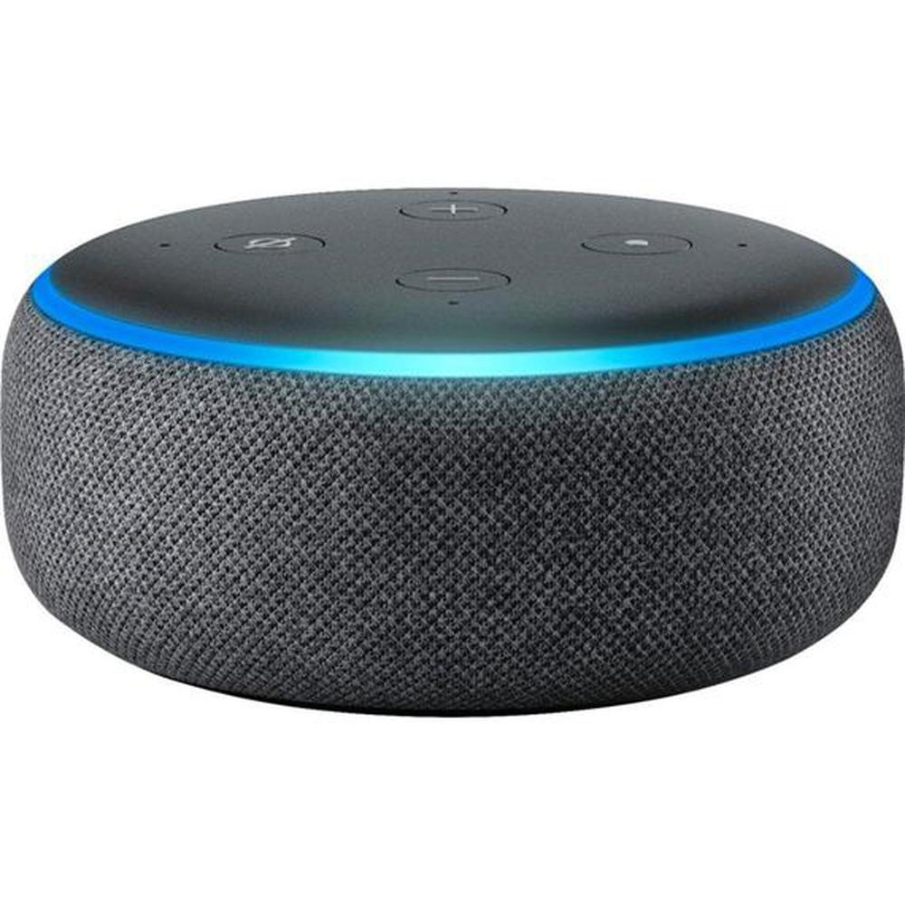 Amazon - Echo Dot (3e génération) -Charcoal-Daily Steals