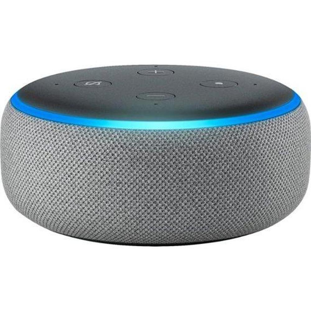 Amazon - Echo Dot (3e génération) -Heather Grey-Daily Steals