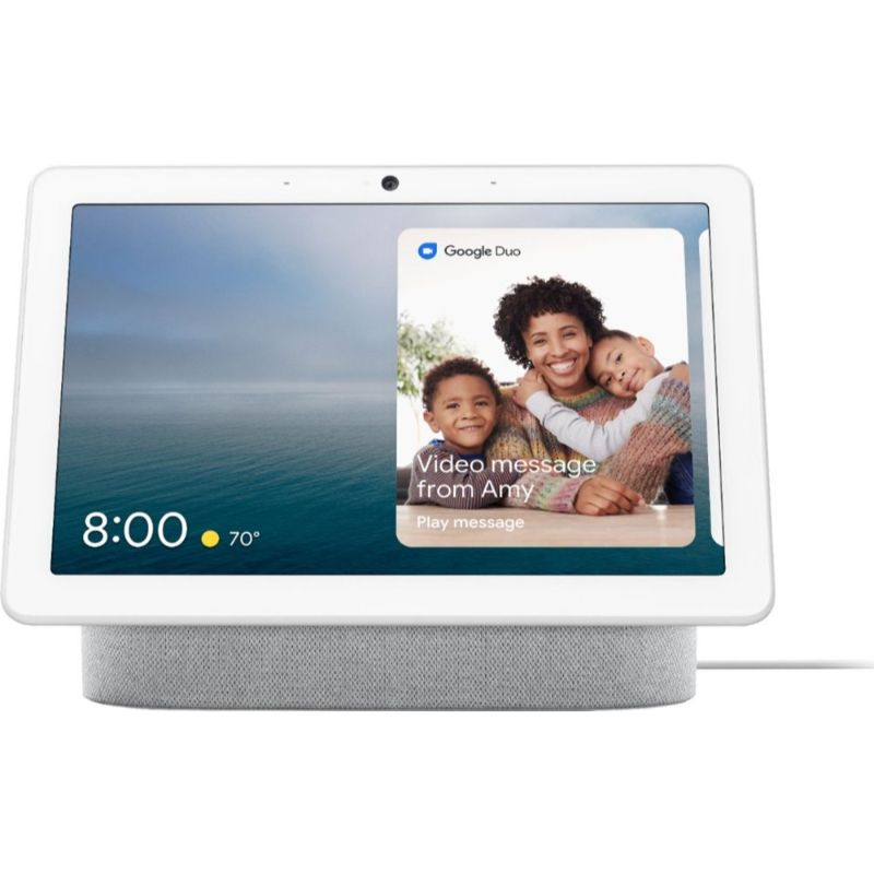 Google Nest Hub Max with Google Assistant-Chalk-Daily Steals