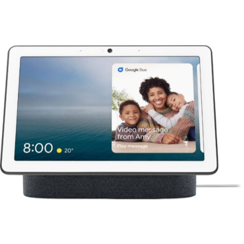 Google Nest Hub Max avec Google Assistant-Charcoal-Daily Steals