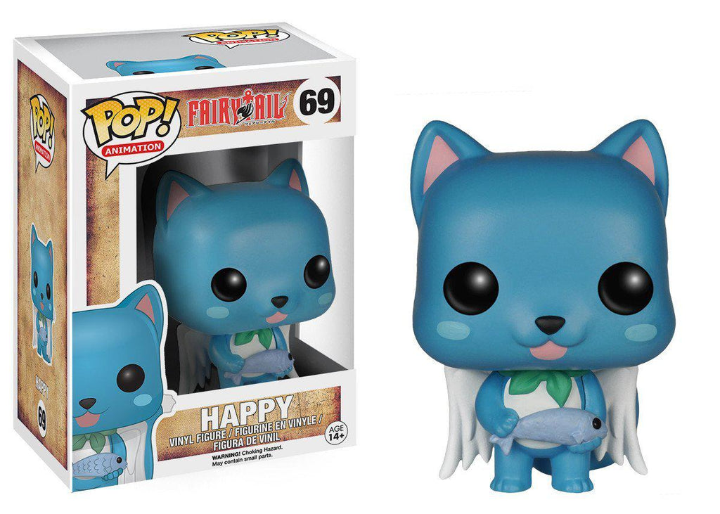 Funko POP Collectible Figures-Pop Anime: Fairy Tail Happy-Daily Steals