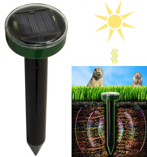 Solar Powered Pest and Rodent Repeller