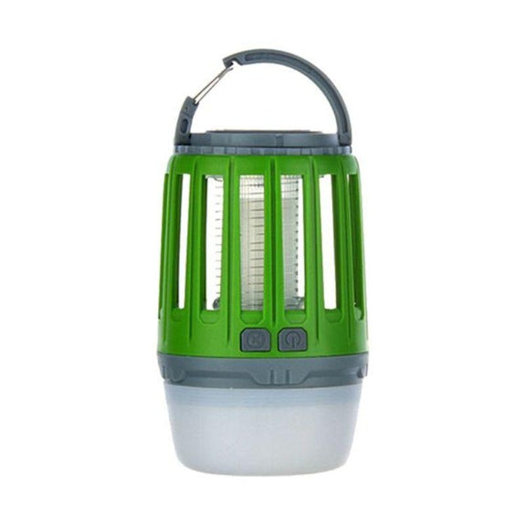 3-in-1 Waterproof Lantern Bug Zapper with 1800mAh Rechargeable Battery-Green-Daily Steals