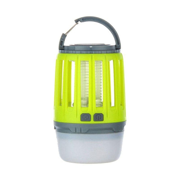 3-in-1 Waterproof Lantern Bug Zapper with 1800mAh Rechargeable Battery-Yellow-Daily Steals