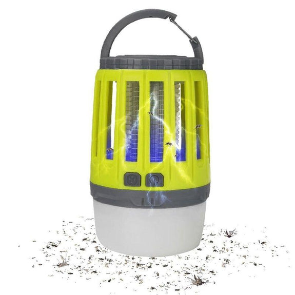 3-in-1 Waterproof Lantern Bug Zapper with 1800mAh Rechargeable Battery-Daily Steals