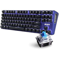 Rantopad MXX Mechanical Gaming Keyboard with 87 Keys & LED Lighting
