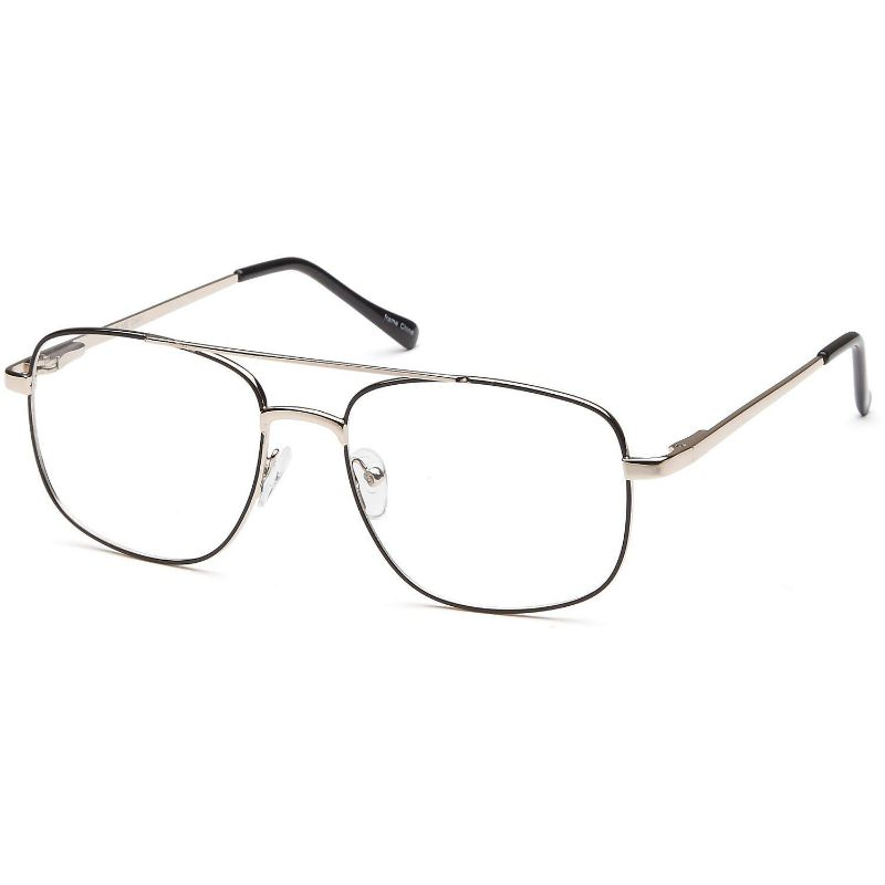 Men's Eyeglasses 56 19 140 Black Gold Metal
