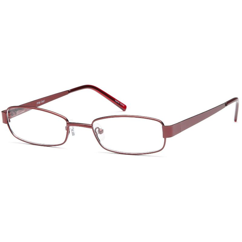 Women's Eyeglasses 50 18 135 Burgundy Metal