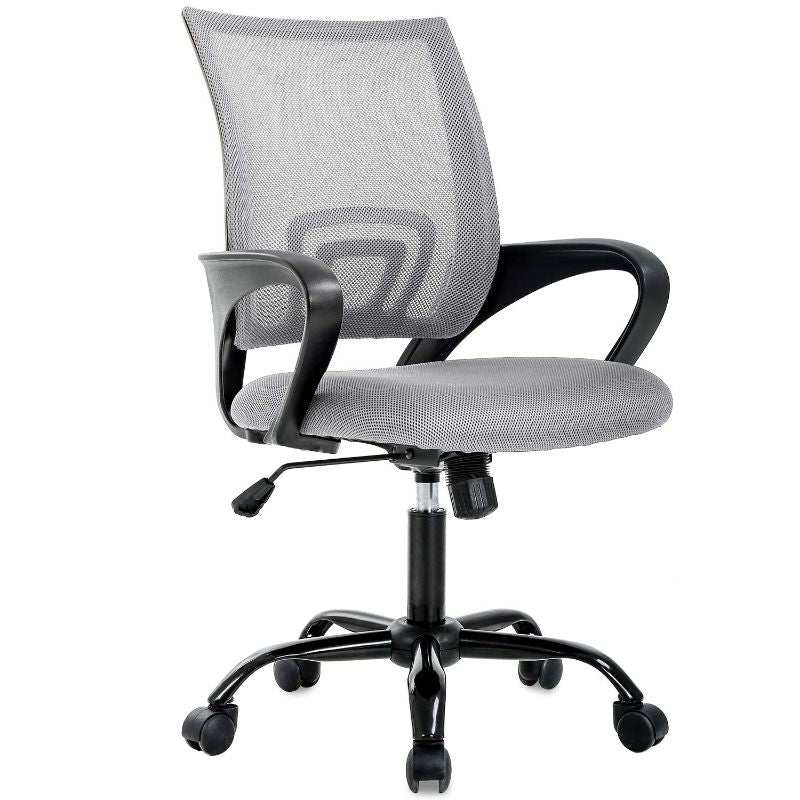 Mesh Ergonomic Office Chair-Grey-Daily Steals